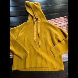 Angel kiss mustard yellow sweater medium